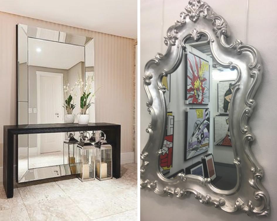 entrée miroirs