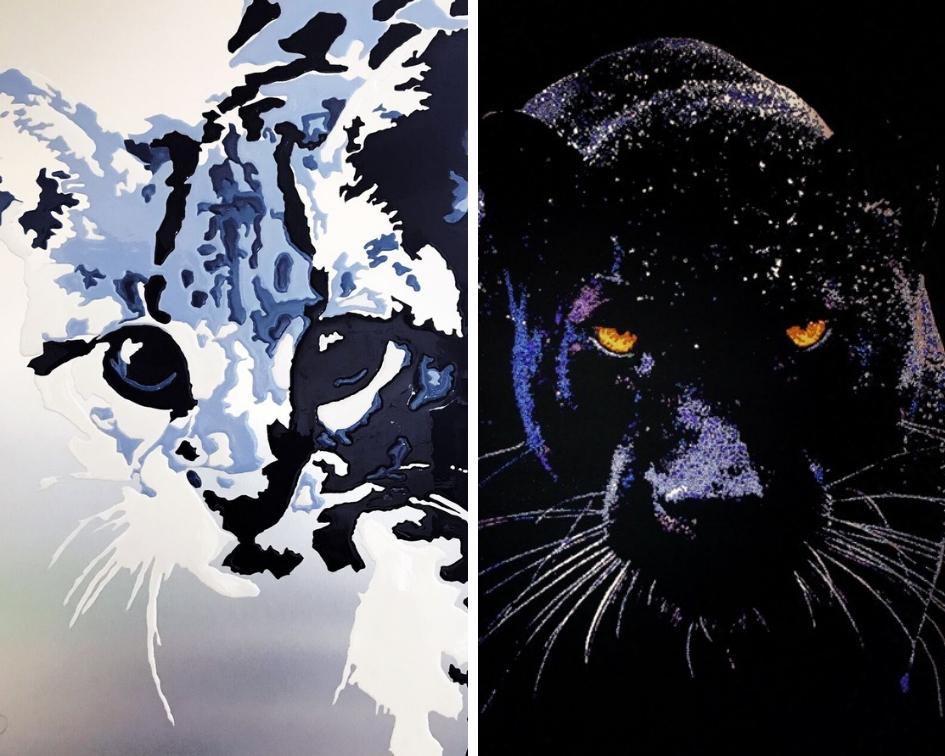 Sabrina Amigoni Ocelot et Black Panther