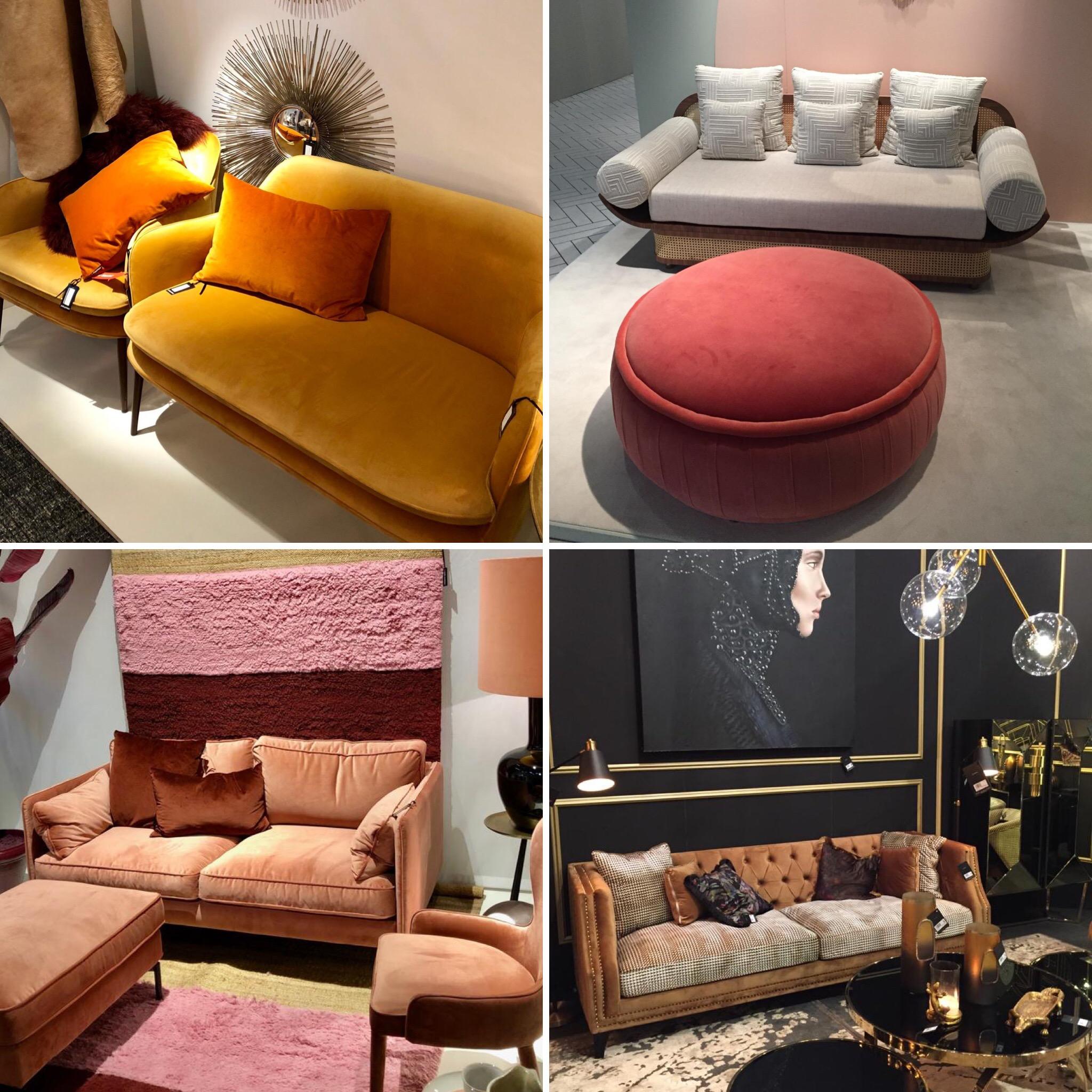 Salon Maison&Objet couleurs chaudes