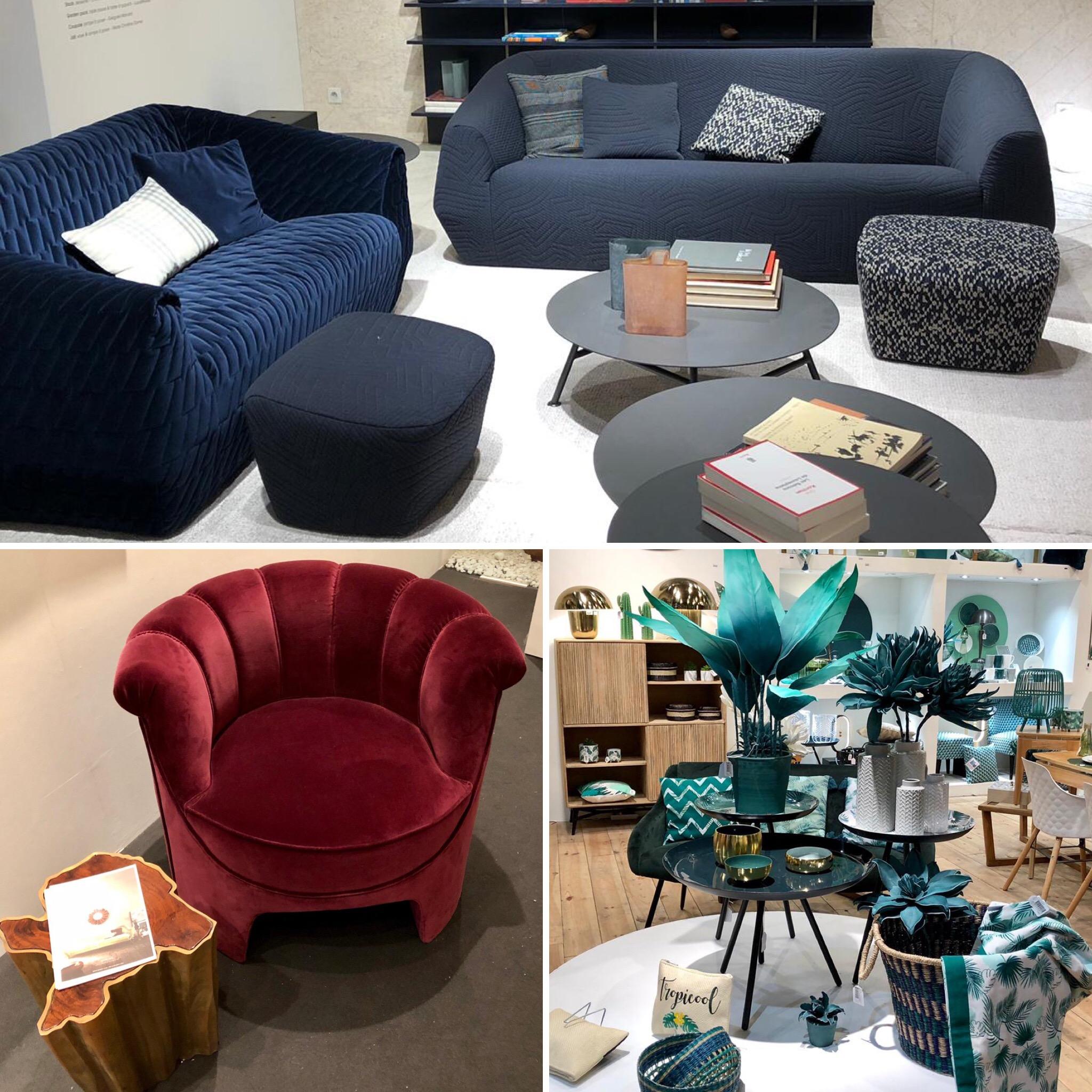 Salon Maison&Objet couleurs foncées